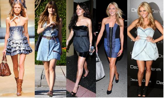 Vestidos Jeans Moda 2016 – Modelos e Como Usar