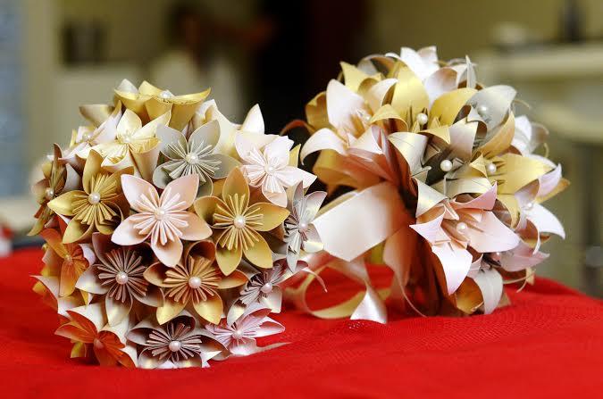 origami-sakura buque