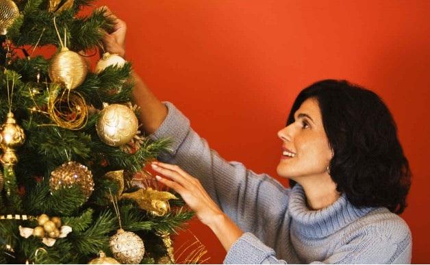 Árvore de Natal Passo enfeite