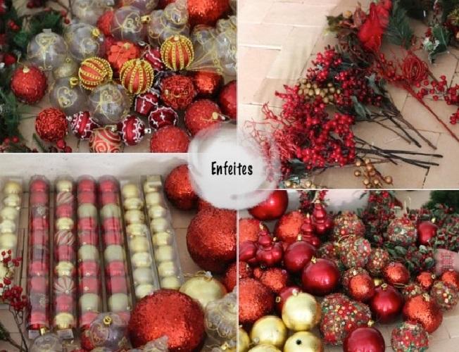 Árvore de Natal Passo enfeites
