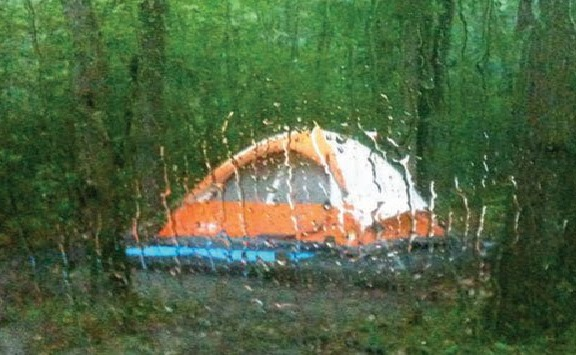 Acampar chuva