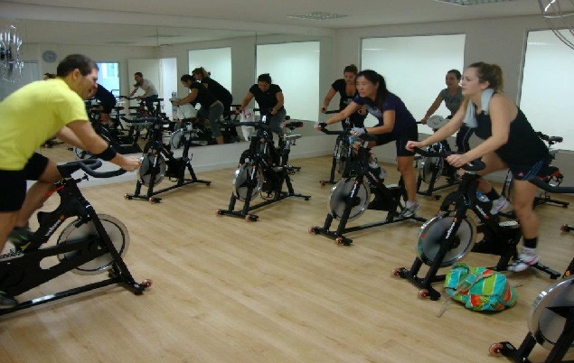 Bike Indoor spinning treino