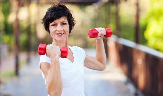 Exercícios Com Halteres articulação