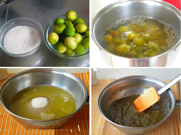 Fruta Umbu geleia