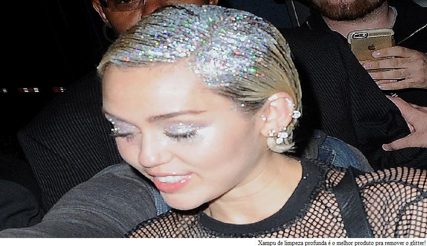 Glitter Raiz dos Cabelos Xampu