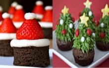 Natal e Brownie Para Decorar Sua Mesa – Como Fazer e Dicas