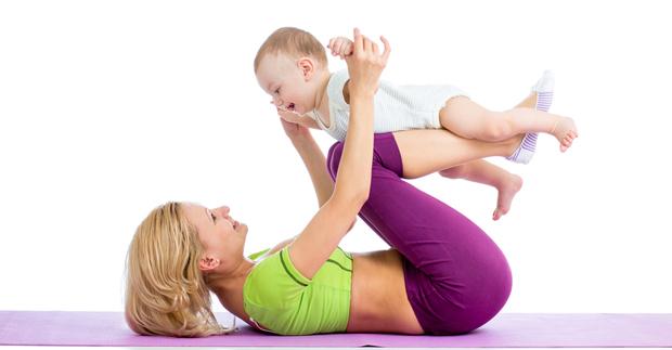 Pilates-Com -bebê-sim