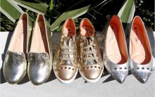 Calçados Metalizados Moda 2016 – Dicas Como Usar