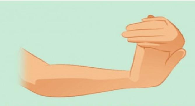 Tendinite nas mãos exercicio1