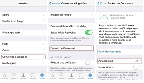 Recuperar copia whatapp iphone