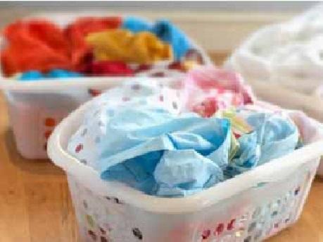 lavar roupas cestos