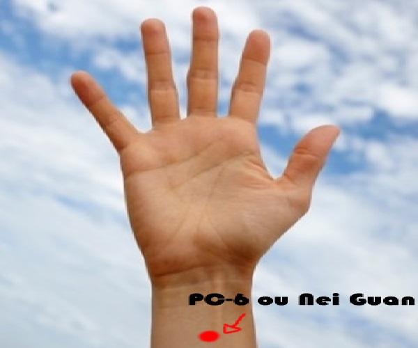 Ansiedade e Enjoo e o Ponto Nei Guan – Como Controlar