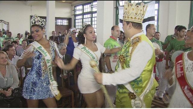 Carnaval de Santos rainha