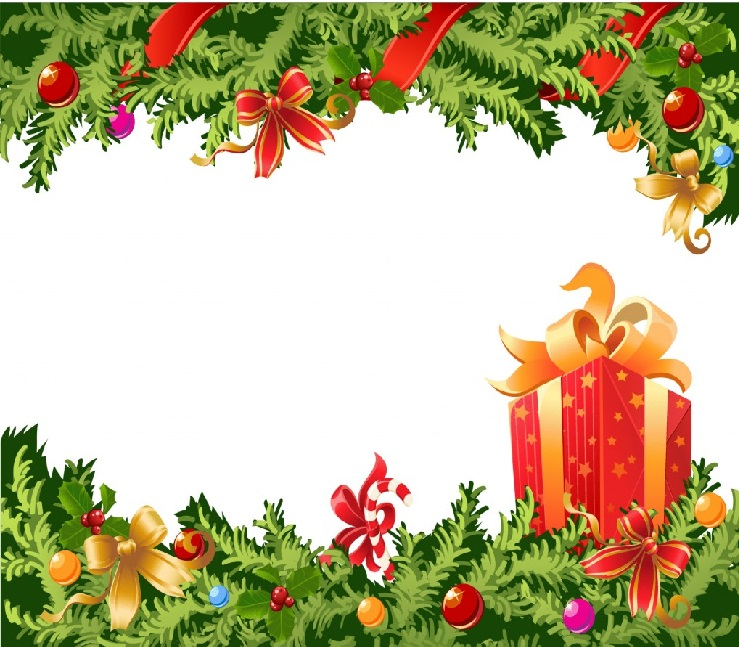 Cartões de Natal modelo grande