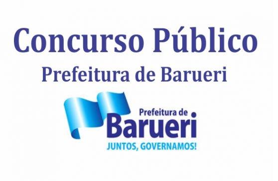 Concurso Barueri SP – Vagas e Inscrições