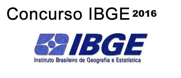Concurso Público IBGE 2016
