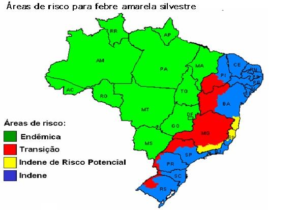 Febre Amarela Urbanas risco