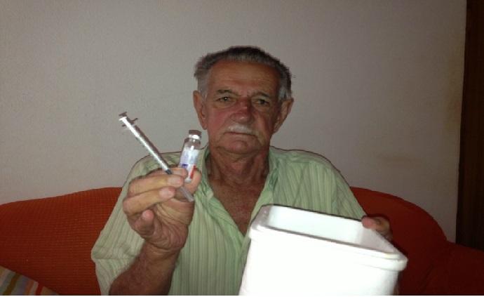 Idosos Diabéticos insulinas