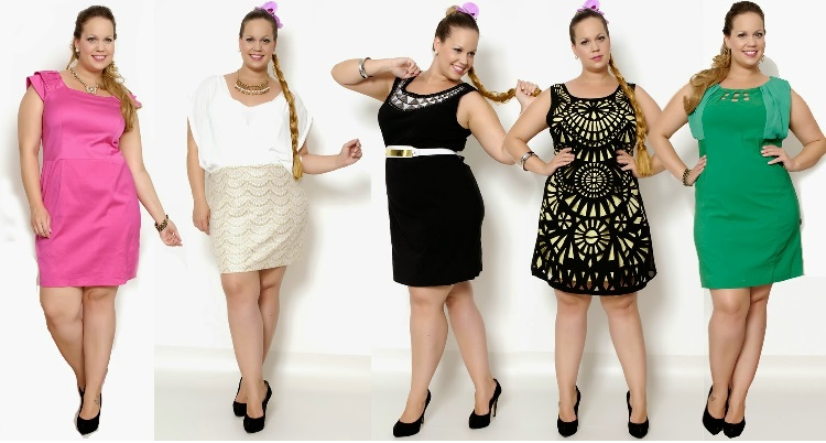 Moda Plus Size Para Réveillon colorido