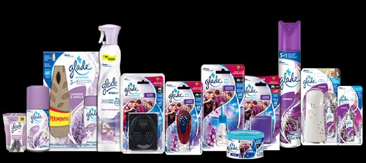 Promoção Glade  produtos
