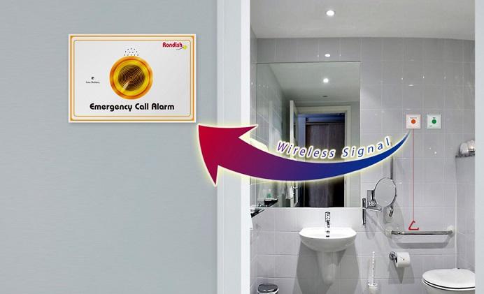 banheiro alerta