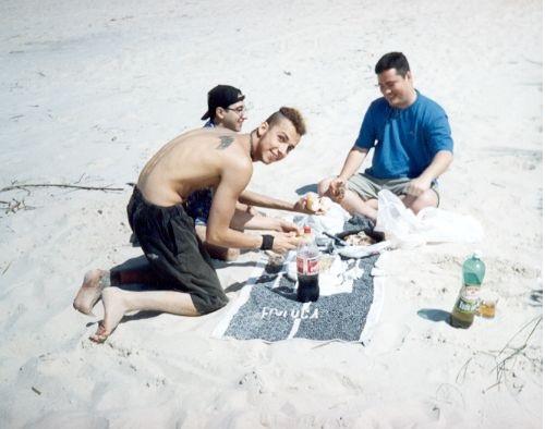 Alimentação à Beira da Praia sol