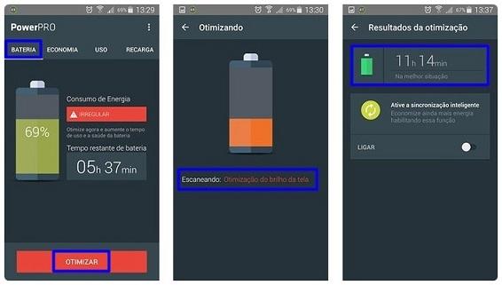 Aplicativos Controlam Gastos de Bateria de Celular.