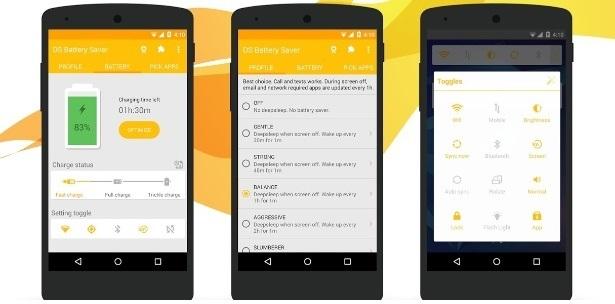 Aplicativos Controlam Gastos de Baterias de Celular
