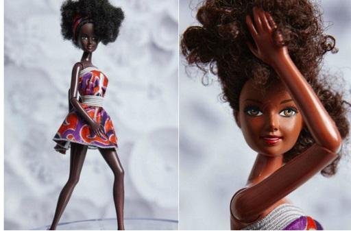 Bonecas Negras  Barbie Modelo Caribenha