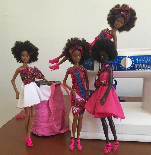 Bonecas Negras Tipo Barbie - Lançamento Modelo Caribenha