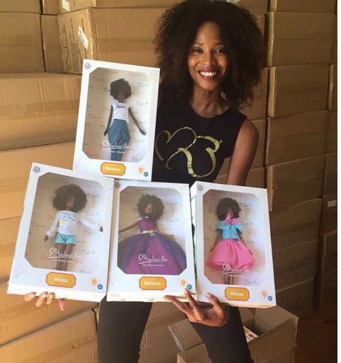 Bonecas Negras Tipo Barbie Modelo Caribenha