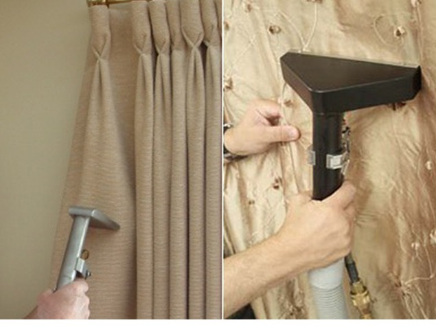 Churrasco Como Limpar cortinas