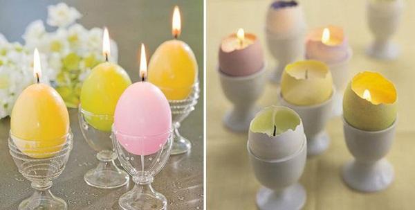 Como Decorar a Casa na Páscoa velas