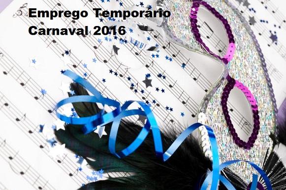 Emprego Temporário no Carnaval – Oportunidades