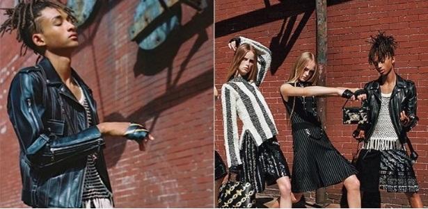 Jaden Smith Estrela Nova Moda Feminina - Loues Vuitton