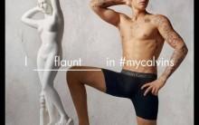 Justin Bieber e Calvin Klein – Nova Campanha