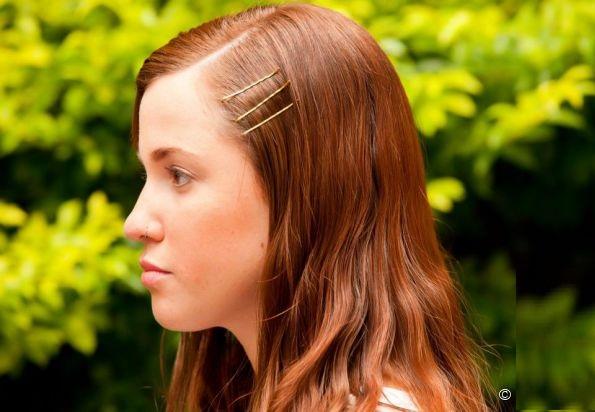 Penteados Feito  grampo