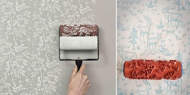 Rolo de Pintura Decorativo – Modelos e Onde Comprar