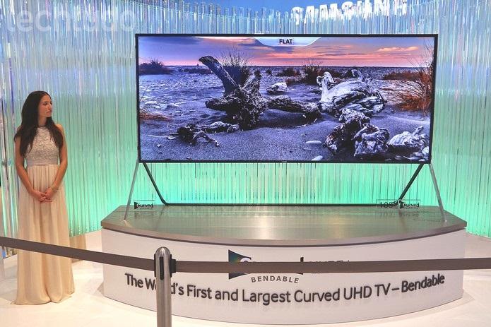 Televisão Tela Flexível - Lançamento Samsung