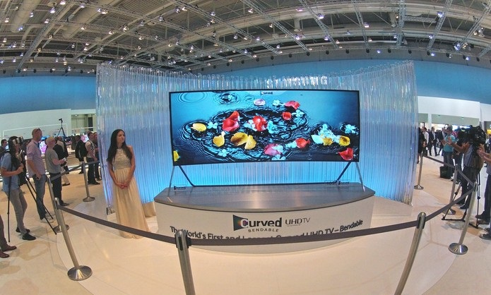 Televisão Tela Flexível -  Samsung