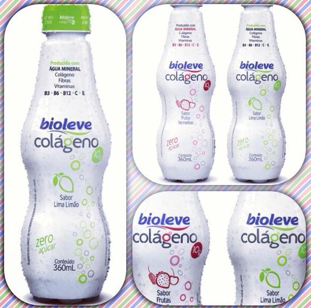 Água com Colágeno da Biolever - Lançamento