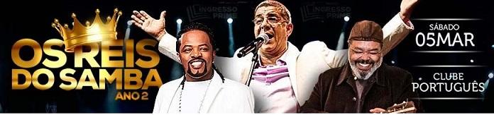 Os Reis do Samba Recife 2016 – Evento, Programação e Ingressos