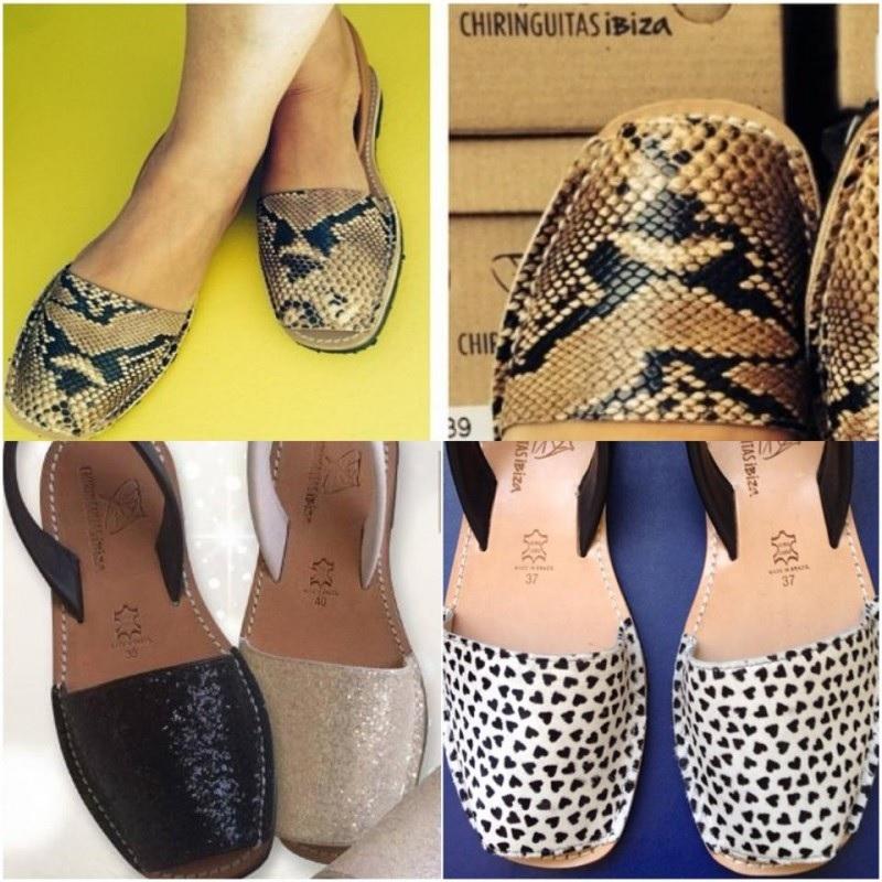 Sapatos Chiringuitas .Modelos