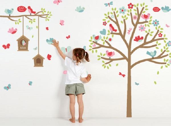 Adesivos de Parede Para Quarto Infantil Como Escolher