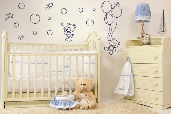 Adesivos de Parede Para Quarto Infantil - Como bebe