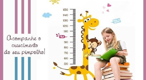 Adesivos de Parede Para Quarto Infantil - Como crescimento
