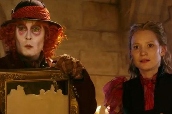 Alice Através do Espelho Sinopse e Trailer