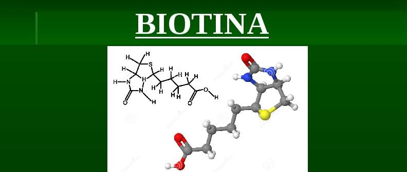 Biotina vitamina- Benefícios  Onde Encontrar