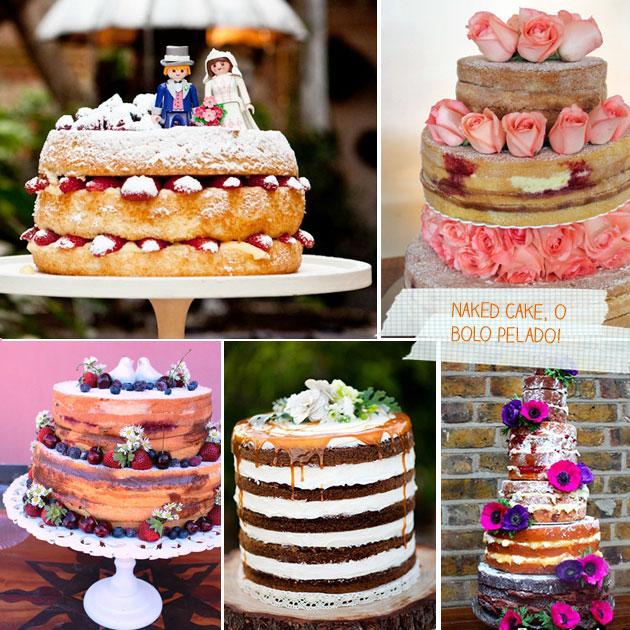 Bolos de Casamento Diferentes - Tendência 2016 florido