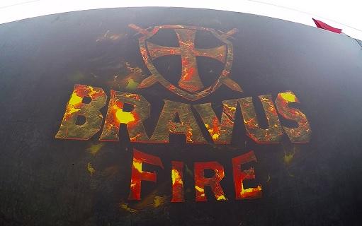 Corrida de Obstáculos Bravus Race 2016 – fire